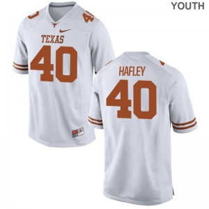 Trenton Hafley UT Jerseys Youth Limited White High School