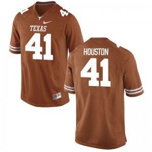 Tristian Houston UT Jerseys S-3XL Game Men Orange