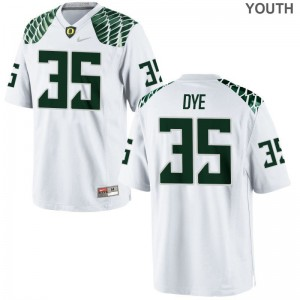 Troy Dye Jerseys Oregon White Limited Youth Jerseys