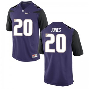 Ty Jones UW Huskies Jerseys Purple Men Limited Jerseys