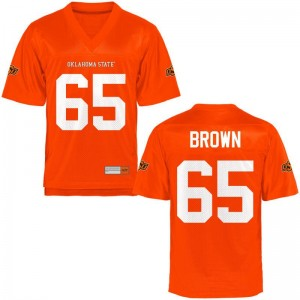 Mens Game Orange OSU Jerseys of Tyler Brown