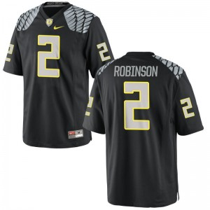 Oregon Ducks Limited For Men Tyree Robinson Player Jerseys - Black