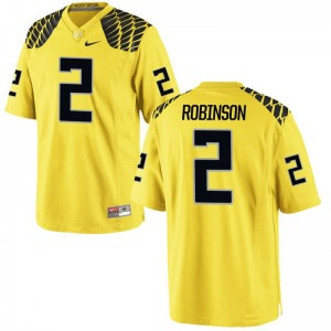 Ducks Jersey of Tyree Robinson For Women Limited Gold