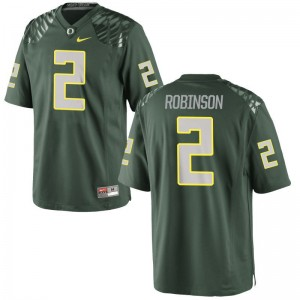 Game Tyree Robinson Jersey Ducks Youth - Green