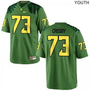 Tyrell Crosby University of Oregon Jerseys Kids Game Apple Green