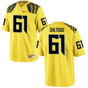University of Oregon Jerseys of Valentino Daltoso For Kids Game Gold
