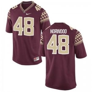 Seminoles For Kids Game Vernon Norwood Jersey S-XL - Garnet