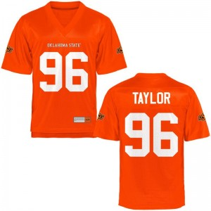 Vincent Taylor OK State Football Jersey Game Womens Orange