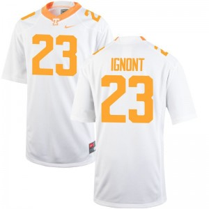 Will Ignont Tennessee For Men Limited Jersey S-3XL - White