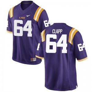 William Clapp LSU High School Jerseys Womens Limited Purple
