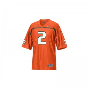 Willis McGahee Miami Hurricanes For Men Limited High School Jerseys - Orange