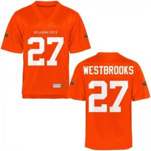 OSU Winston Westbrooks Jerseys S-2XL For Women Game - Orange