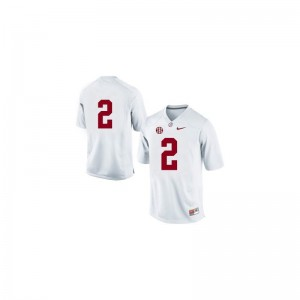 Alabama Crimson Tide Derrick Henry Jersey For Women #2 White Game