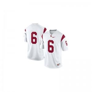 Trojans Cody Kessler Limited Women High School Jersey - #6 White