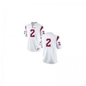 Adoree' Jackson Trojans College Jersey #White Ladies Game Jersey