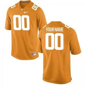 Youth(Kids) Custom Jerseys S-XL Tennessee Vols Limited Orange