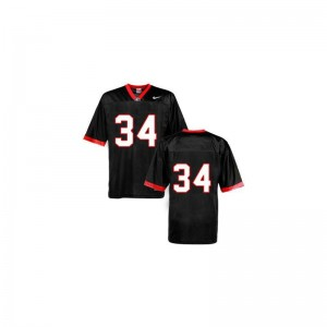 Georgia Bulldogs Football Jersey of Herschel Walker Kids Game #34 Black