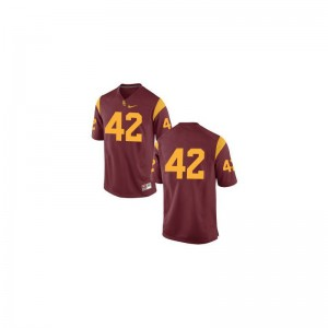 Ronnie Lott USC College Jersey Game Youth #42 Cardinal