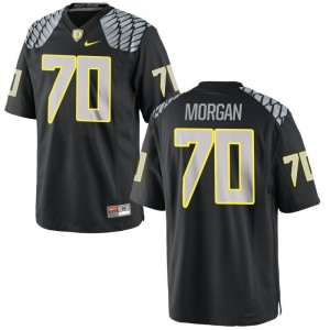Zac Morgan Ducks Jerseys For Men Game Black