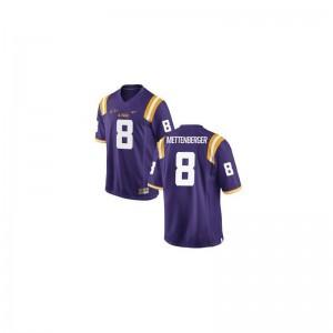 Louisiana State Tigers Zach Mettenberger Mens Game Jersey S-3XL - Purple