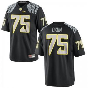 UO Zach Okun Limited Jersey Black For Kids