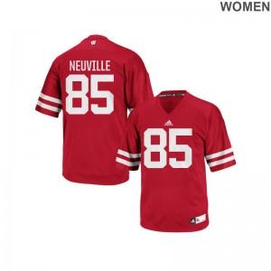 Zander Neuville UW Ladies Authentic Jerseys S-2XL - Red