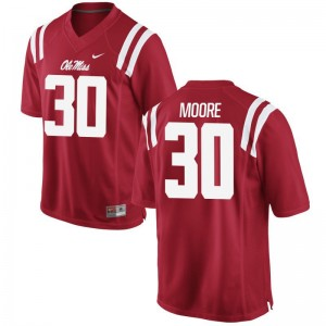 Game For Men Rebels Alumni Jersey A.J. Moore - Red