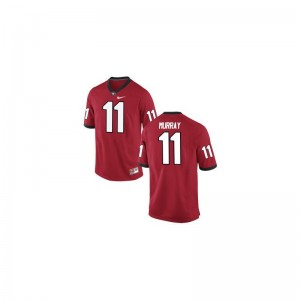 UGA Aaron Murray High School Jerseys Game For Women Red