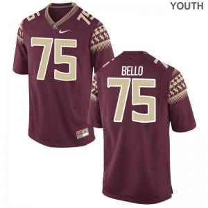 Florida State Seminoles Garnet Kids Limited Abdul Bello Jerseys