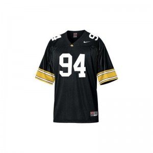 Iowa Adrian Clayborn Black Game For Men Alumni Jerseys