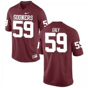 Adrian Ealy Sooners Jerseys Game Mens Jerseys - Crimson