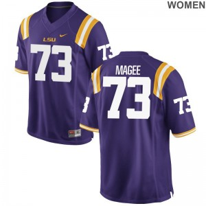 Tigers Adrian Magee Jersey For Women Game Jersey - Purple