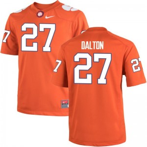 Alex Dalton Clemson University Jersey S-3XL Game Men Orange