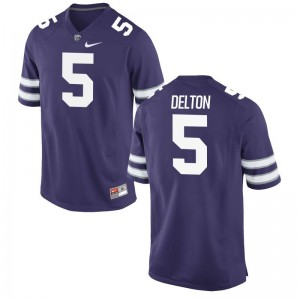 Alex Delton Kansas State University Jersey Men Game Purple