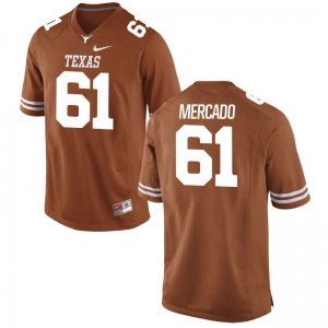 Orange Game Youth(Kids) Longhorns Jerseys of Alex Mercado