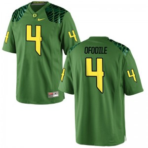 Alex Ofodile University of Oregon Men Apple Green Game High School Jersey
