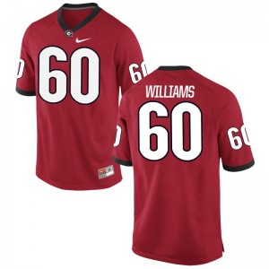 UGA Bulldogs Allen Williams Alumni Jersey Men Game Jersey - Red