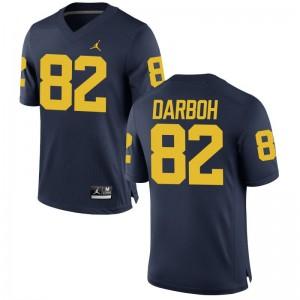 Men Game Michigan NCAA Jerseys Amara Darboh - Jordan Navy
