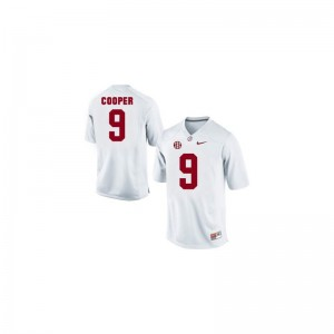 Limited White Kids Alabama Crimson Tide Jerseys Amari Cooper