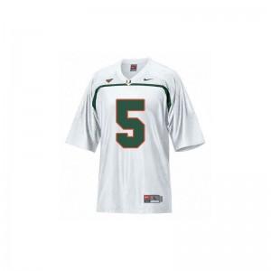 Andre Johnson Miami Game Kids Jerseys S-XL - White