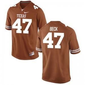Game Orange Andrew Beck Jerseys S-3XL For Men UT