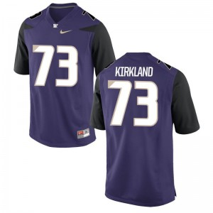 UW Huskies Andrew Kirkland Jerseys For Men Game - Purple