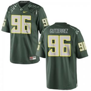 Anthony Gutierrez Jersey Oregon Ducks Green Game For Women Football Jersey