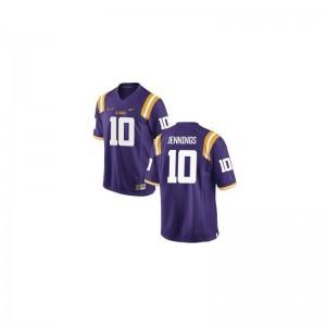 Anthony Jennings Youth(Kids) Purple NCAA Jersey Limited LSU Tigers