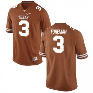 Men Armanti Foreman Jersey College Orange Game Longhorns Jersey