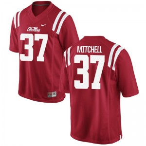Ole Miss Jersey of Art Mitchell Red Men Game