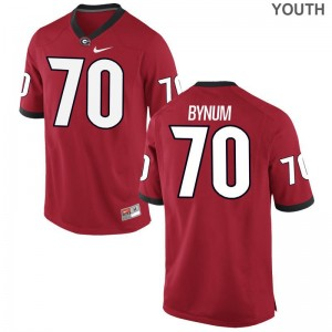 For Kids Aulden Bynum Player Jersey UGA Game Red