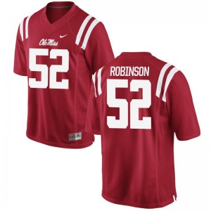 Austrian Robinson University of Mississippi Jersey Game For Men Red