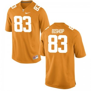 Tennessee Vols BJ Bishop Youth Limited Football Jersey - Orange
