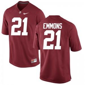 Bama B.J. Emmons Jersey Red Mens Game